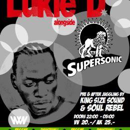 LUKIE D (Jamaica) live pon SUPERSONIC SOUND @ Gaskessel, Bern – 27.02.2015