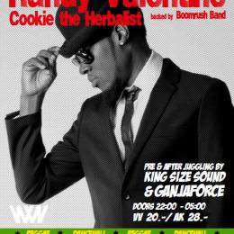 RANDY VALENTINE & COOKIE THE HERBALIST – live in concert!!