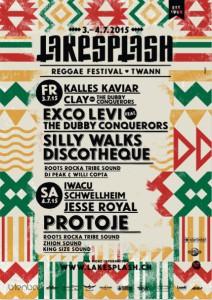 Lakesplash 2015! Reggae Festival in Twann/Switzerland!