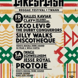 Lakesplash – Reggae Festival, Twann – Switzerland / 3rd & 4th July 2015