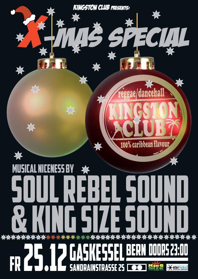 Kingston Club X-MAS SPECIAL 2015! feat. SOUL REBEL & KING SIZE SOUND