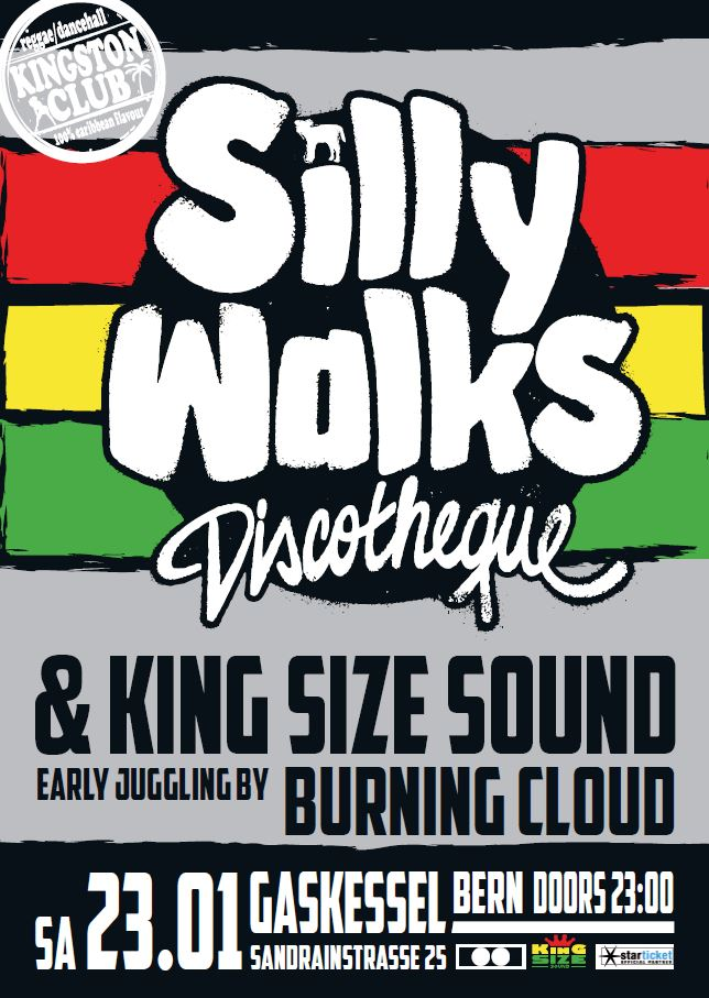 Silly Walks Discotheque at the Kingston Club - 23.01.2016 - Gaskessel, Bern, Switzerland