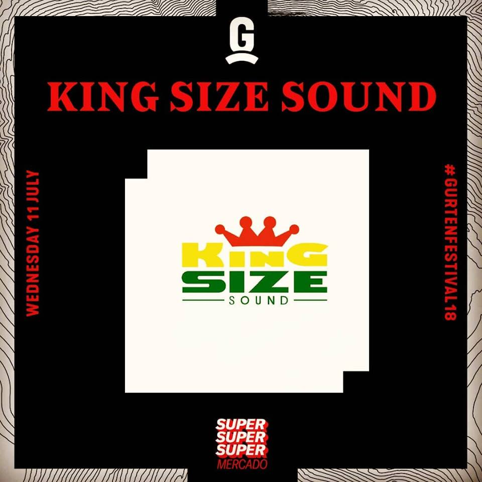 King Size Sound live at #SuperMercardo - Gurtenfestival - 2018 - reggae & dancehall