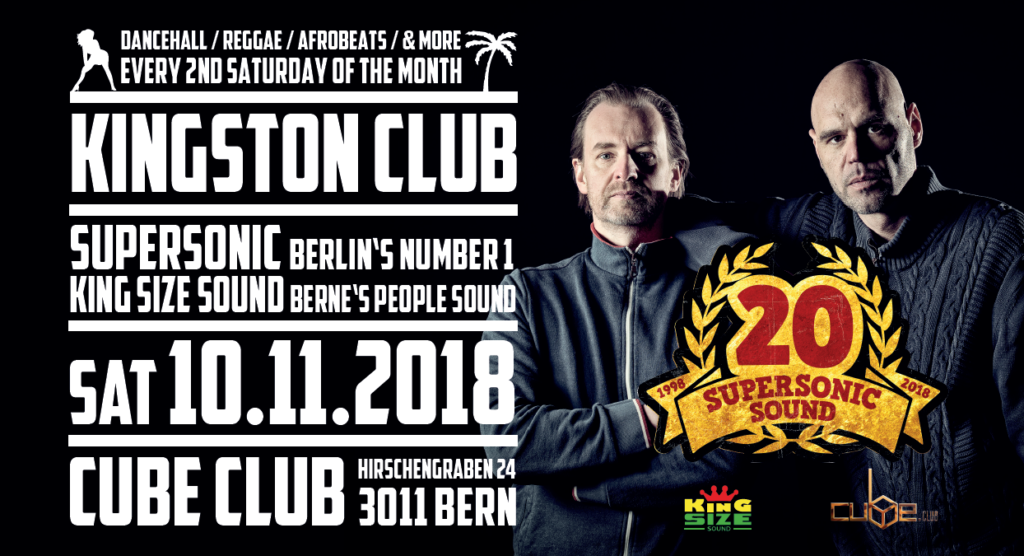 SuperSonicSound at the @Kingston Club - 10.11.2018 - Cube Club, Bern